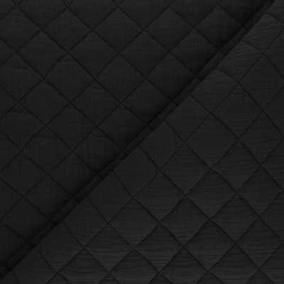 BLACK Quilted Double Gauze €26,90 p/m