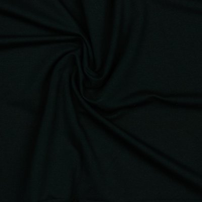 COUPON 85 CM Verhees GOTS  - ZWART Solid €12,90 p/m french terry