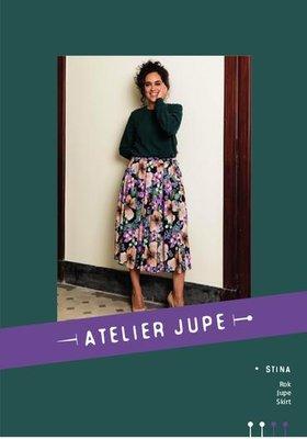 Atelier Jupe - Stina rok - papieren patroon €16,50 p/m