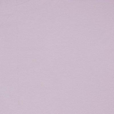 COUPON 90CM Verhees GOTS  - LIGHT LAVENDER Solid €10,90 p/m jersey