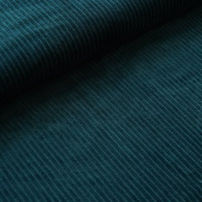 COUPON 25cm Stoffonkel - Nicky Corduroy water by night €23,90 p/m GOTS