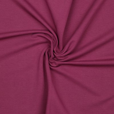 COUPON 55cm Verhees GOTS  - PURPLE Solid €12,90 p/m french terry