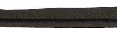 Zwart - paspelband 4mm