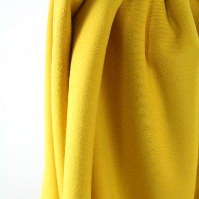 Solid mosterd geel - €16,80 p/m GOTS