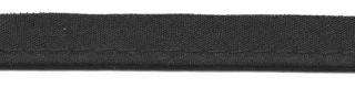 Zwart - paspelband 2mm