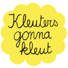 Eva Mouton - Kleuters gonna kleut strijkapplicatie