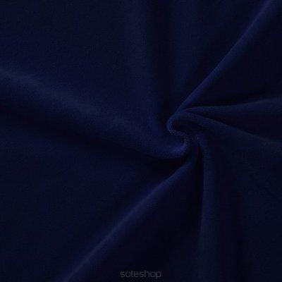 Donkerblauw velvet