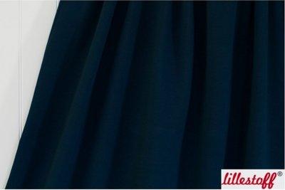 Lillestoff - solid donkerblauw (summersweat) €17,80 p/m GOTS
