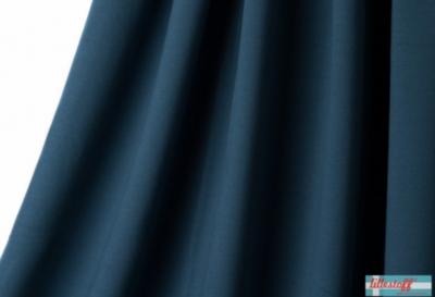 Lillestoff - solid rauch blauw (summersweat) €17,80 p/m GOTS