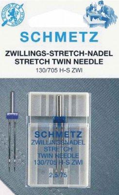 Stretch Twin Needle Schmetz 2,5/75