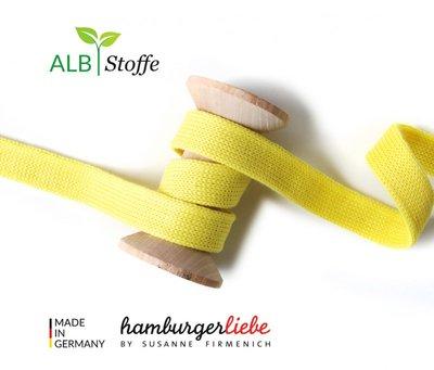 Alb Stoffe - Cord me - geel hoodie koord €2 p/m