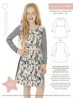 Minikrea Teen jersey dress 40040
