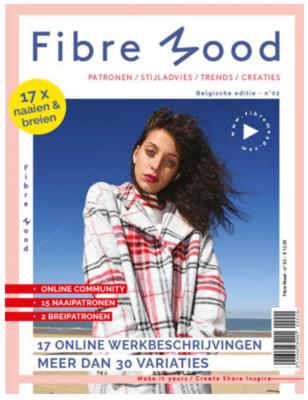 UITVERKOCHT Fibre Mood -  Magazine NR.2 12,50 p/s