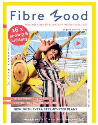 UITVERKOCHT  Fibre Mood -  Magazine NR.3 12,50 p/s