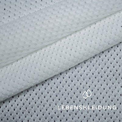 COUPON 120CM Lebenskleidung - Mesh White €23 p/m GOTS