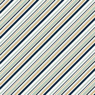 Birch Organic Fabrics - Mod Nouveau mint/metallic €20 p/m JERSEY