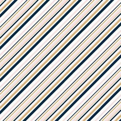 Birch Organic Fabrics - Mod Nouveau pink/metallic €20 p/m JERSEY