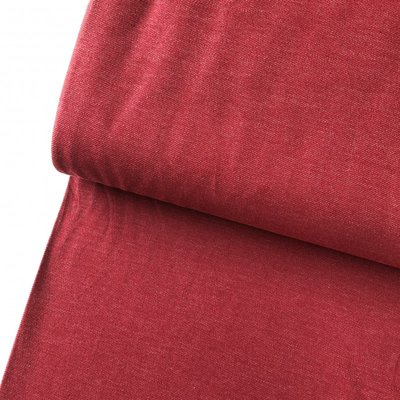 Polytex Organics - Rumba Red solid (GOTS) €16