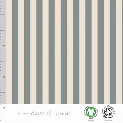 Elvelyckan  - Grey stripes €24 p/m jersey (GOTS)