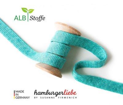 Alb Stoffe - Cord me - Mint hoodie koord €2 p/m