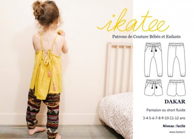 Ikatee - Dakar pants/shortpants 3/12j