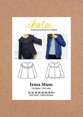 Ikatee - Irma Cardigan -  MUM / Ladies
