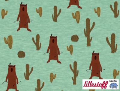 Lillestoff -  Bear jersey €20 p/m GOTS