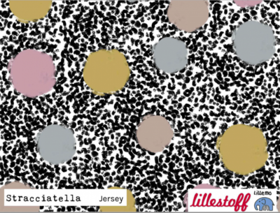 Lillestoff -  Stracciatella jersey €20 p/m GOTS