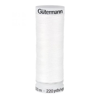 Gutermann 111 wit - 200m
