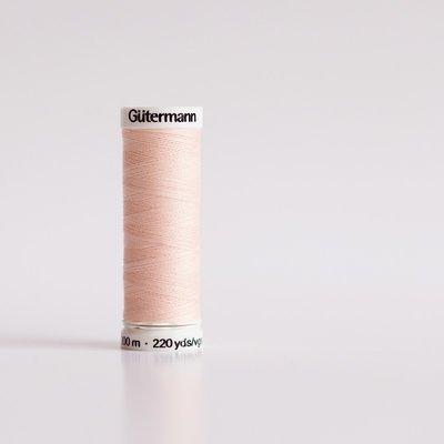 Gutermann 658 Roze / veiled pink - 200m