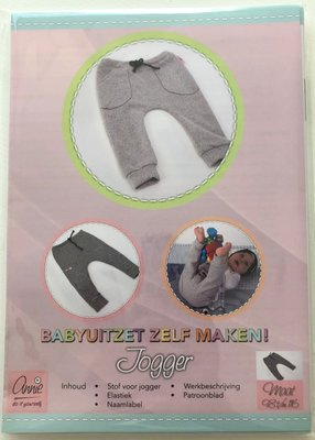 Annie - Jogger broekje mt 98-116 €2,50 p/s