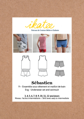 Ikatee - Sebastien underwear and swimsuit -  3/12j