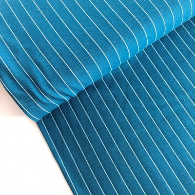 Polytex Organics - Petrol striped (GOTS) €16,50