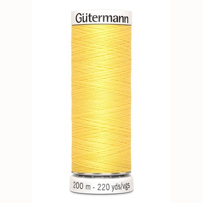 Gutermann 852 geel / lemon curry 200m