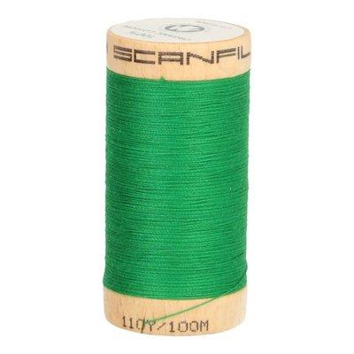 Scanfil Organic Garen- 4821 Groen - 100m