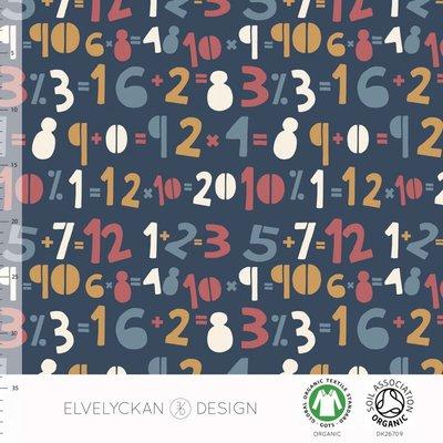 Elvelyckan  - Numbers €24 p/m jersey (GOTS)