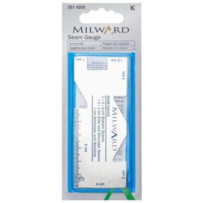 Milward Seam Gauge- Zoommaatje Aluminiam 3,95 p/s