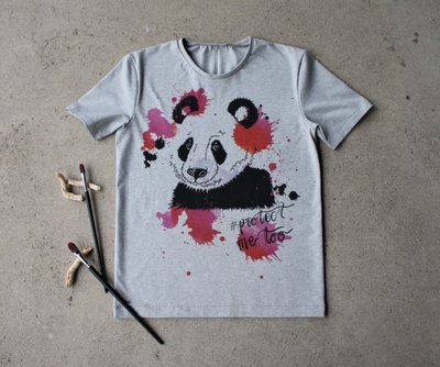 Lillestoff -  Paneel Panda Protect Me 80cm jersey €17,50 p/s GOTS