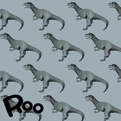 Roo - Rex in Blue (bio jersey) €24 p/m