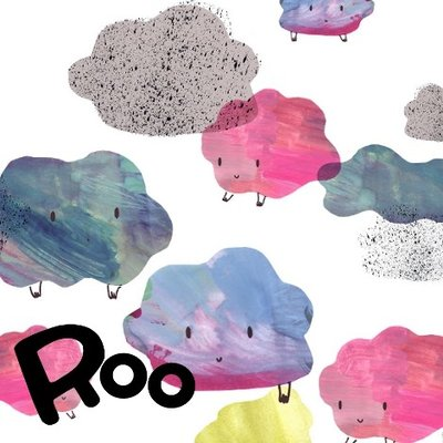 Roo - Cumulus Clouds (bio sweat/french terry) €25 p/m