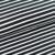 COUPON 75cm Black/White stripes €19,80 p/m GOTS
