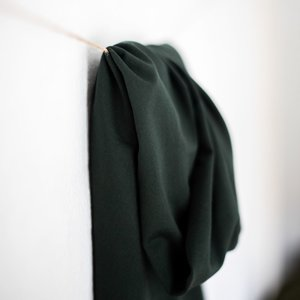 deep green tencel jersey