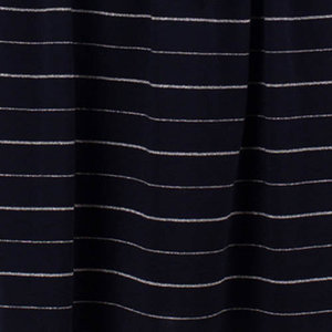 Froy & Dind- Tencel Stretch Jersey - Silver Blue lines €24,50 p/m