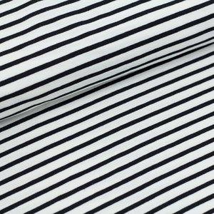 COUPO48cm black/white 2  stripes €19,80 p/m GOTS