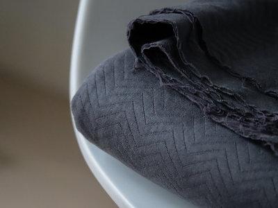 mindtheMAKER - Chevron Quilt Asphalt €28,50 p/m