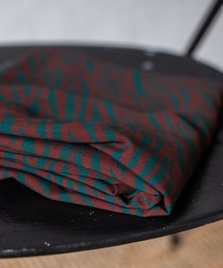 mindtheMAKER - Viscose Zebra Teal/brown €19,50 p/m