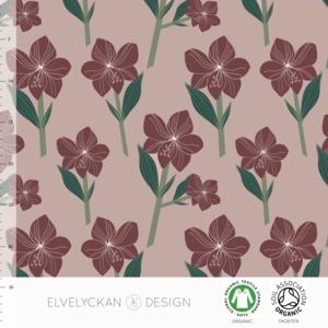 Elvelyckan  - Amaryllis Rose €24 p/m jersey (GOTS)