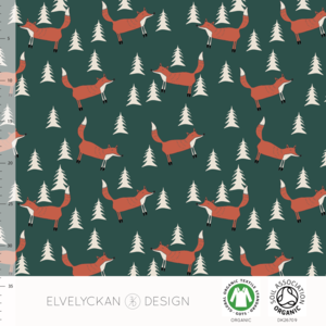 Elvelyckan  - Fox Evergreen €24 p/m jersey (GOTS)