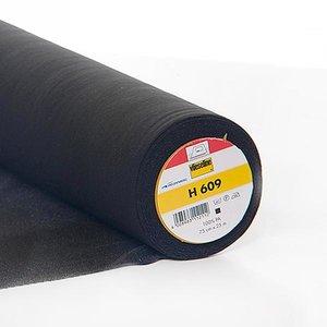 Vlieseline H609 ZWART- rekbare vlieseline €7,98 p/m