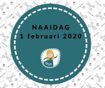 Ticket 1 februari 2020 Naaidag (verkoop start 13 nov 20 uur)